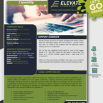 IT Services Capability Statement Template