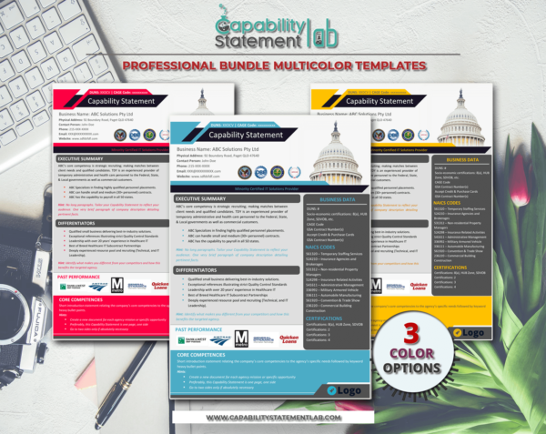 Business-Capability-Statement-Template