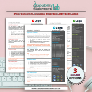 Engineering Capability Statement Template