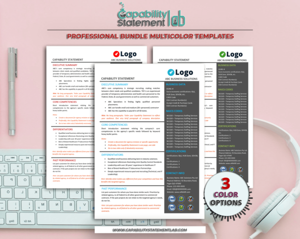 Capability Statement Template_Bundle