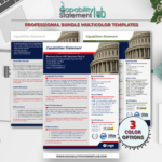 Capitol Hill Capability Statement Template