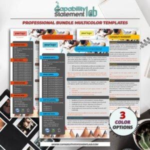 Digital Marketing Capability Statement Template