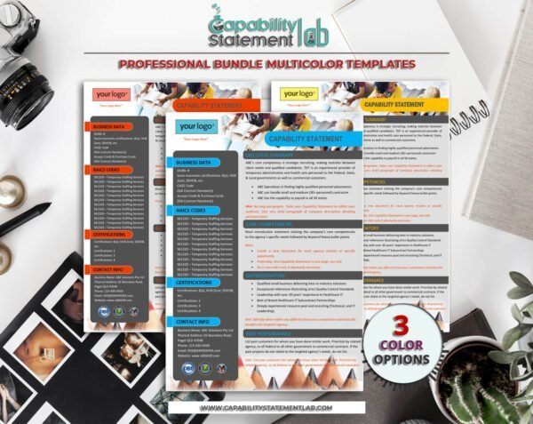 Digital-Marketing-Capability-Statement-Template