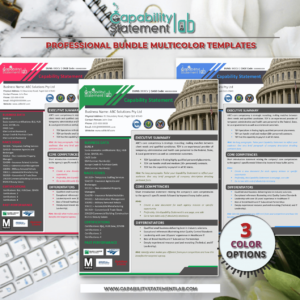 Effective Capability Statement Template