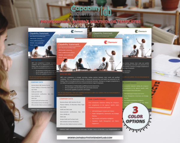 Human Resources Capability Statement Template