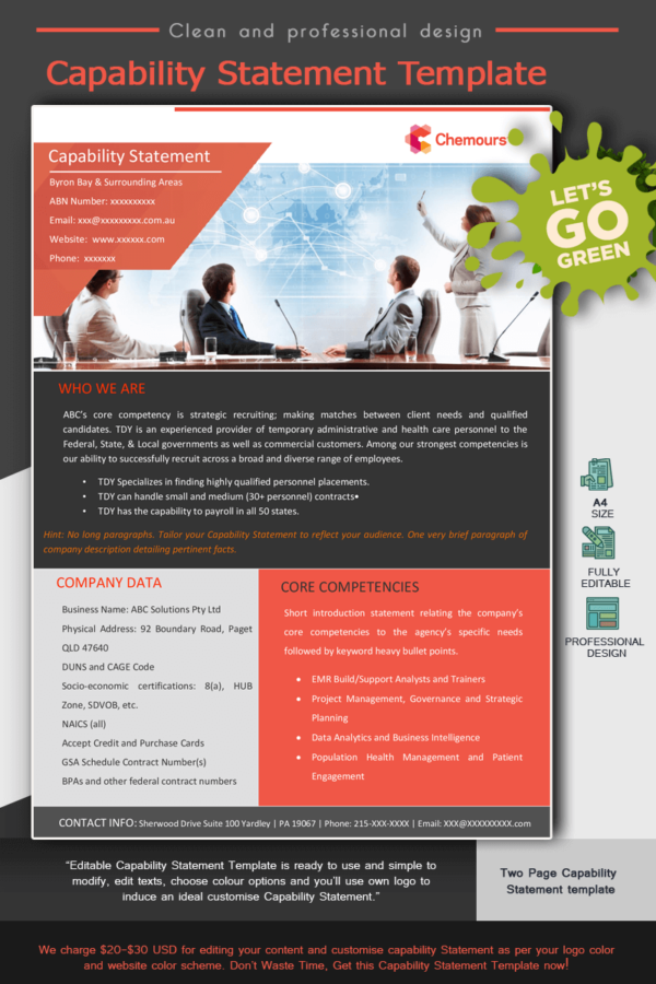 Human Resources Capability Statement_Red