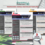 Professional Capability Statement Template
