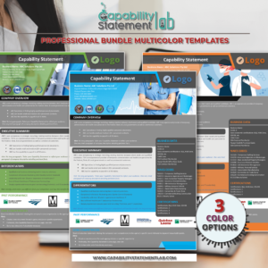 HealthCare Capability Statement – Editable
