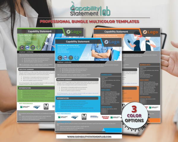 HealthCare Capability Statement Template